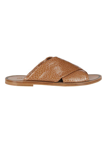 Brunello Cucinelli Open Toe Slides