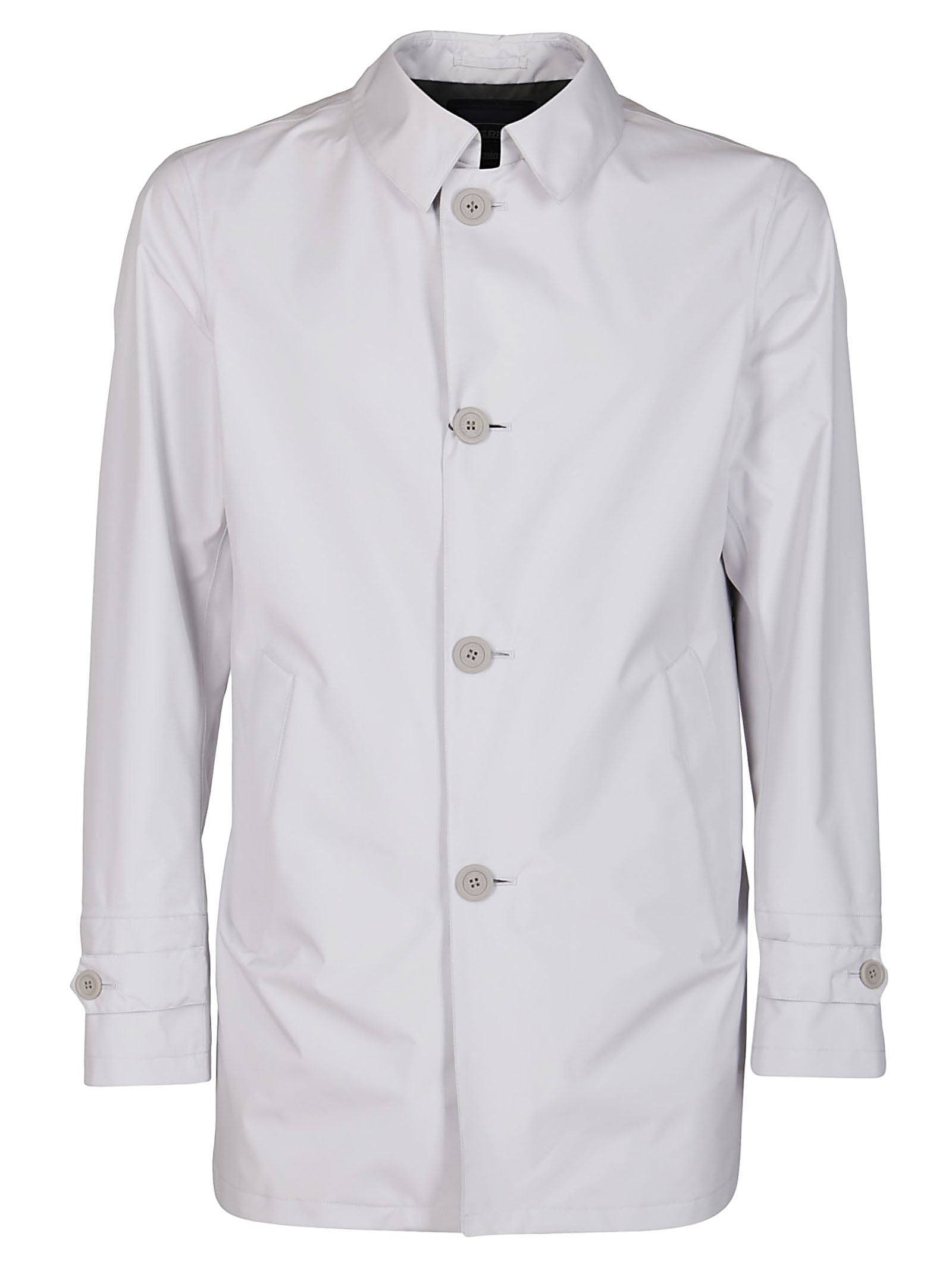 Herno HERNO BUTTONED SHIRT JACKET