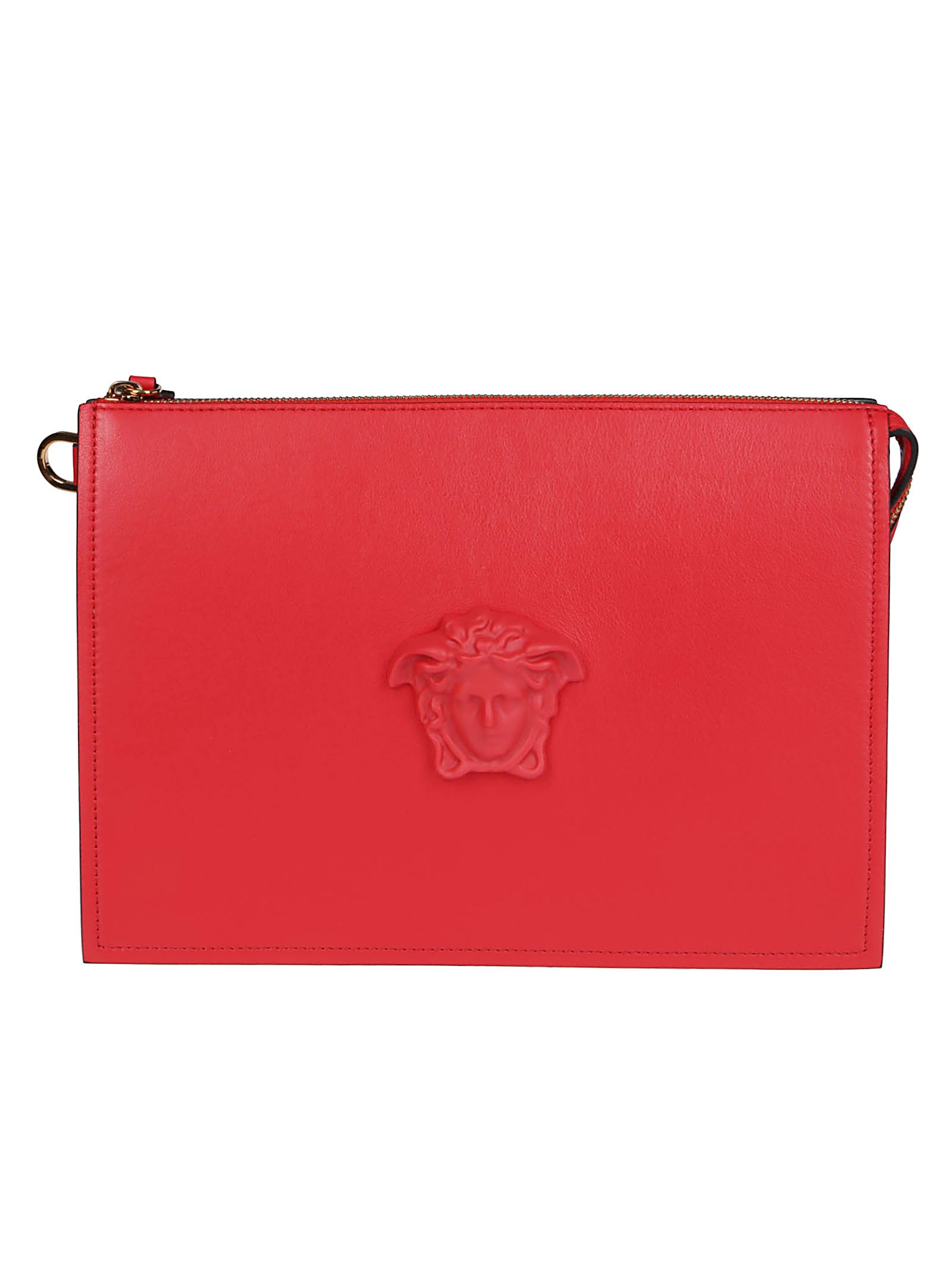Versace VERSACE LA MEDUSA LARGE CLUTCH BAG