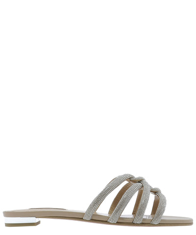 Aquazzura Moondust Flat Sandals