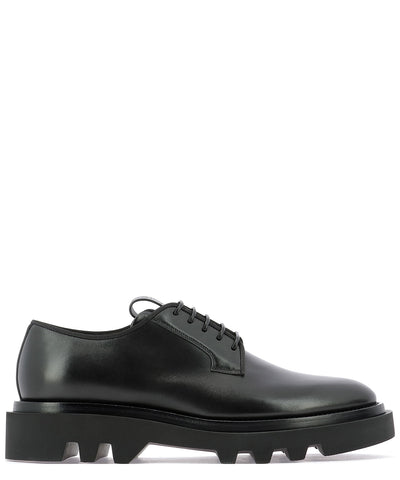 Givenchy Logo Embossed Derby Shoes