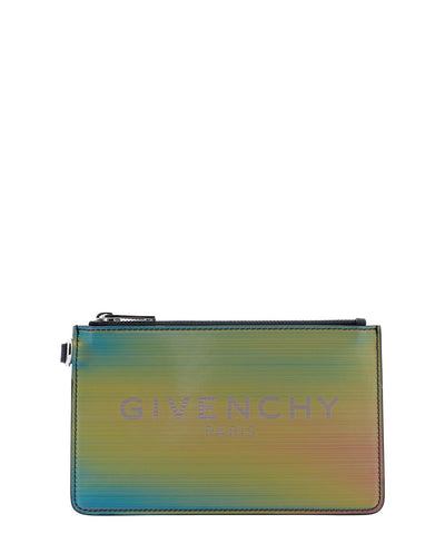Givenchy Zipped Logo Clutch