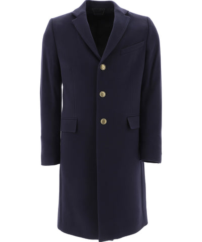 Givenchy 4G Buttons Embellished Straight Coat