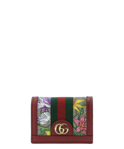 Gucci GG Ophidia Flora Wallet