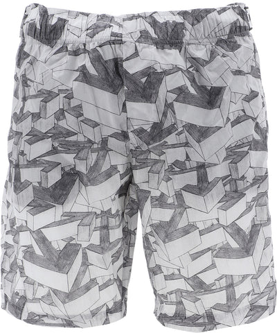 Off-White Arrows Printed Swim Shorts
