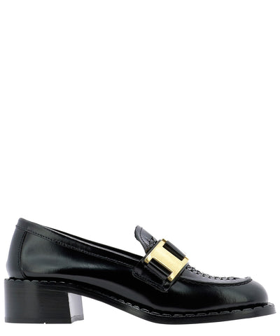 Prada Chain Detail Loafers