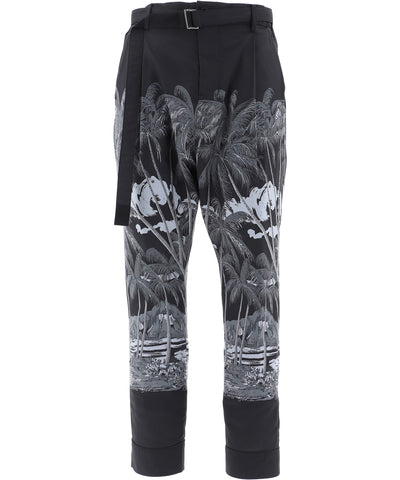 Sacai Tropical Print Pants