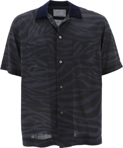Sacai Animal Print Shirt