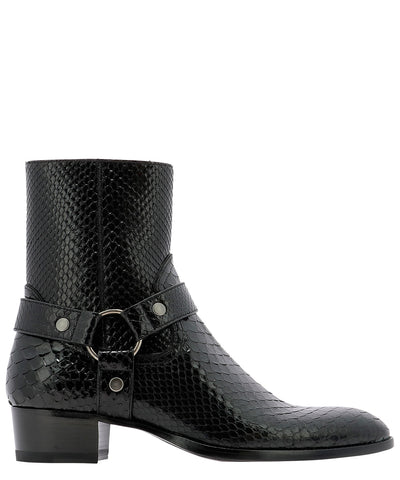 Saint Laurent Wyatt Harness Boots