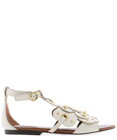 See By Chloé Flower Studded Sandals