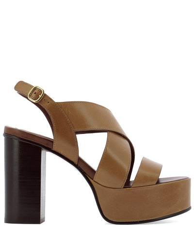 See By Chloé Crossover Platform Sandals