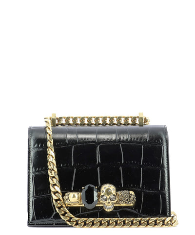 Alexander McQueen Spider Jewelled Crossbody Bag
