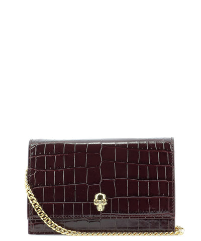 Alexander McQueen Mini Skull Embellished Crossbody Bag