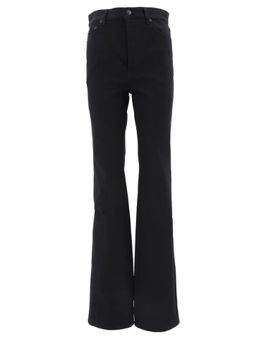 Balenciaga High Waisted Flared Jeans