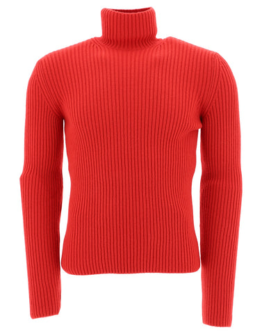 Balenciaga Ribbed Turtleneck Pullover