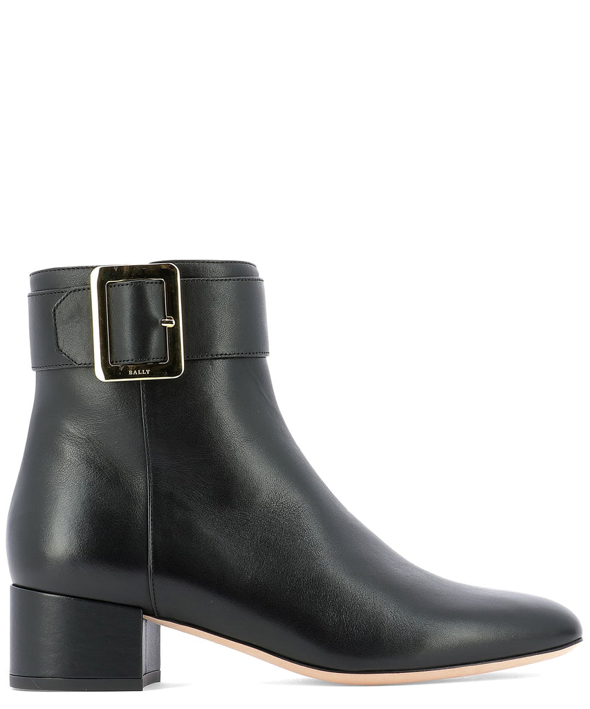 Bally Jay 40 Buckle Ankle Boots