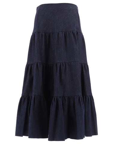 Chloé Tiered Ruffle Skirt