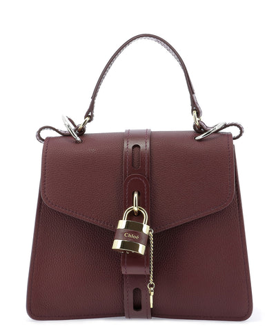 Chloé Aby Padlock Top Handle Bag