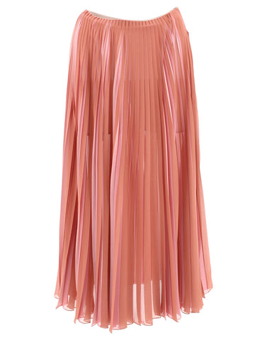 Dior Pleated Maxi Skirt