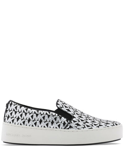 Michael Michael Kors Logo Embellished Slip-On Sneakers
