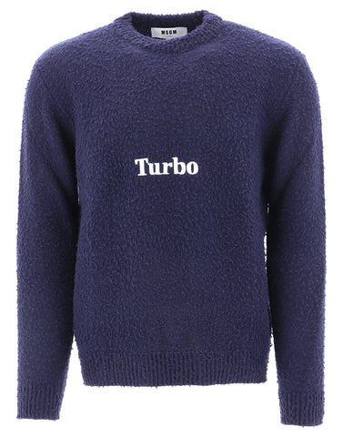 MSGM Turbo Embroidered Sweater