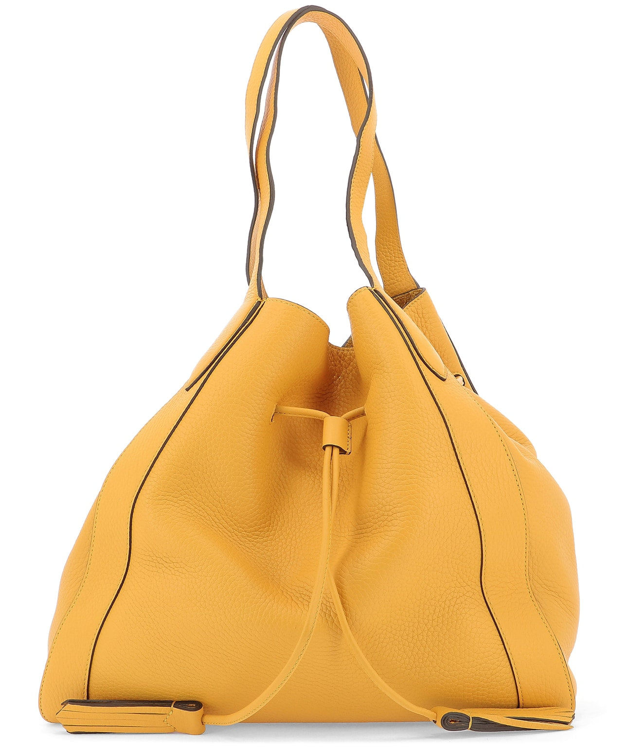 Mulberry Totes MULBERRY MILLIE DRAWSTRING TASSEL DETAIL TOTE BAG