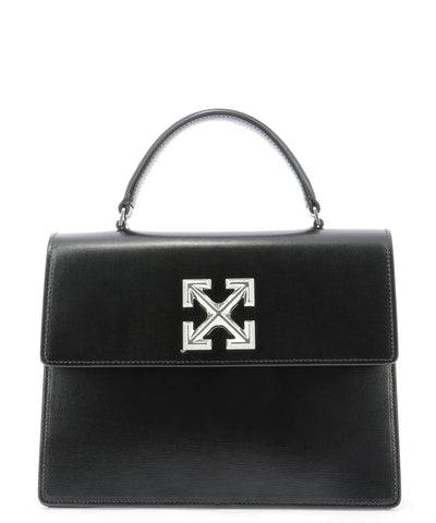 Off-White 2.8 Jitney Arrow Logo Tote Bag