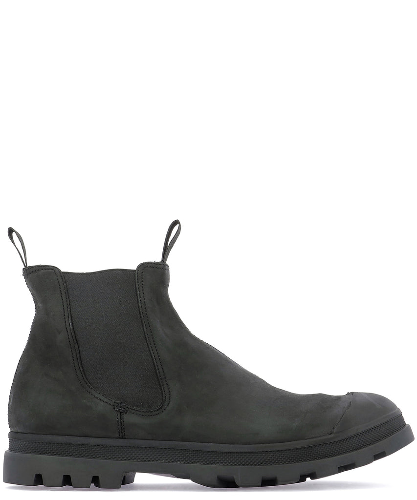 Officine Creative Elastic Panelled Ankle Boots