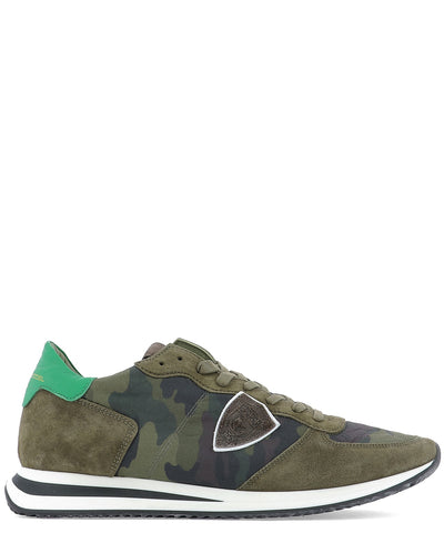 Philippe Model Camouflage Low-Top Sneakers