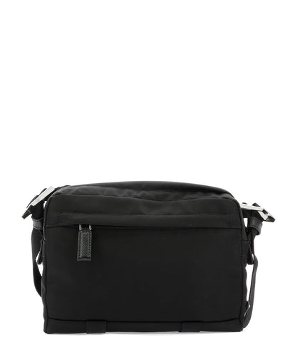 Prada Double Zipped Buckle Detail Camera Bag