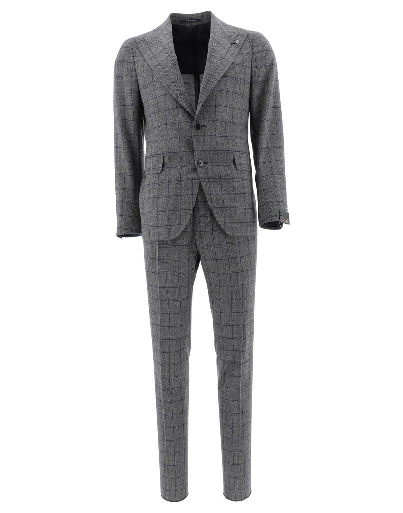 Tagliatore Checked Two-Piece Suit