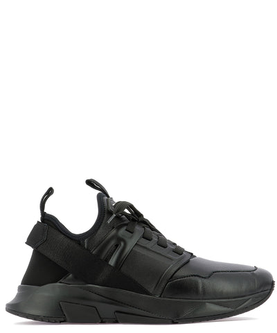 Tom Ford Logo Low-Top Sneakers