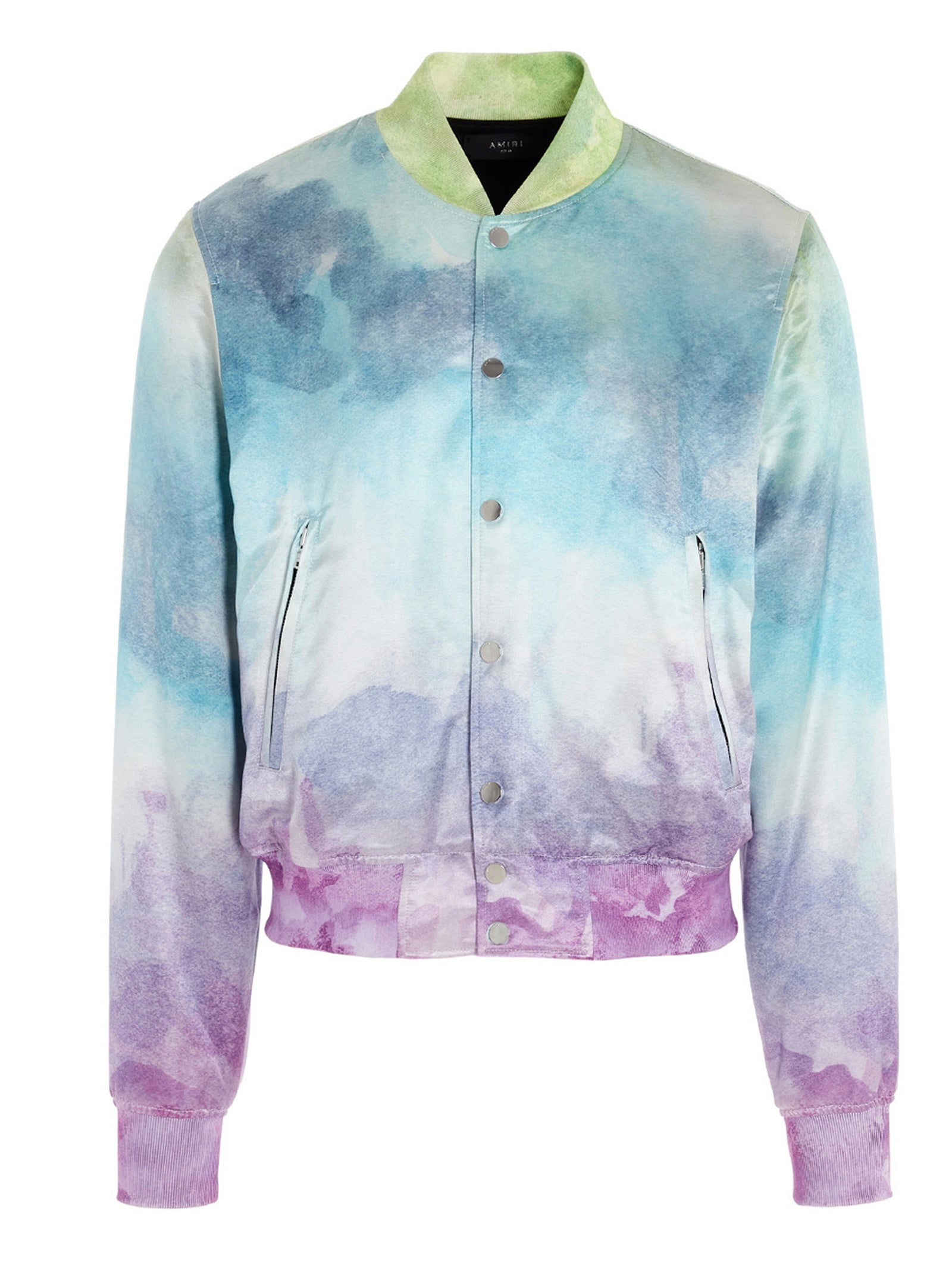 AMIRI AMIRI WATERCOLOUR BOMBER JACKET
