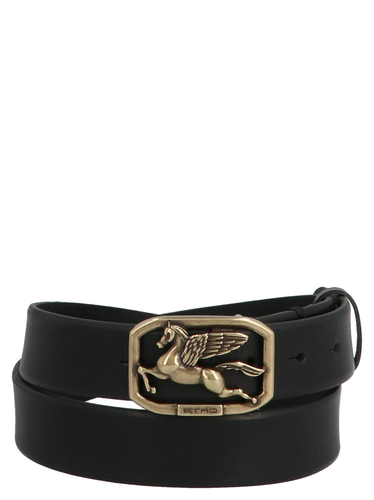 Etro Belts ETRO PEGASO BUCKLE BELT