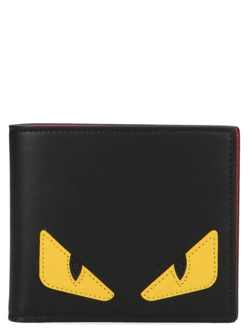 Fendi Bag Bugs Eye Bifold Wallet