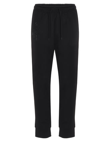 Fendi FF Appliqué Jogger Pants
