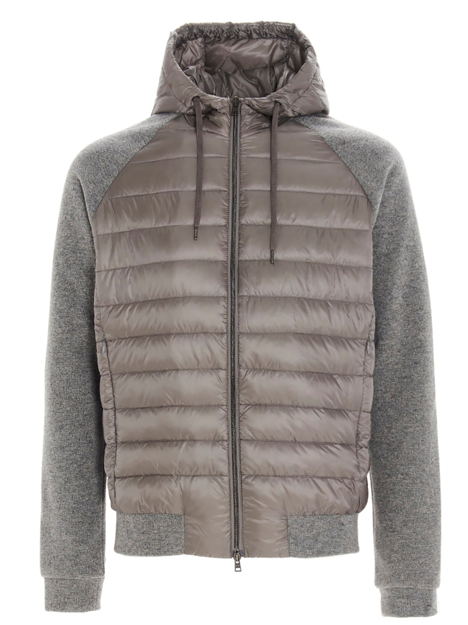 Herno HERNO KNITTED PADDED JACKET