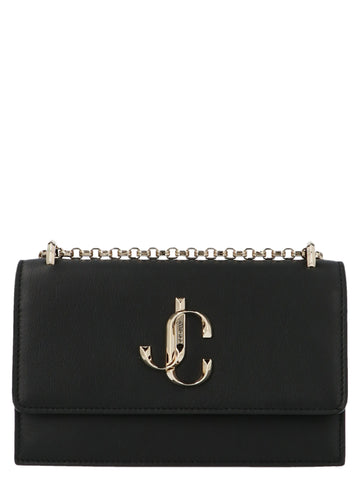 Jimmy Choo Logo Crossbody Bag