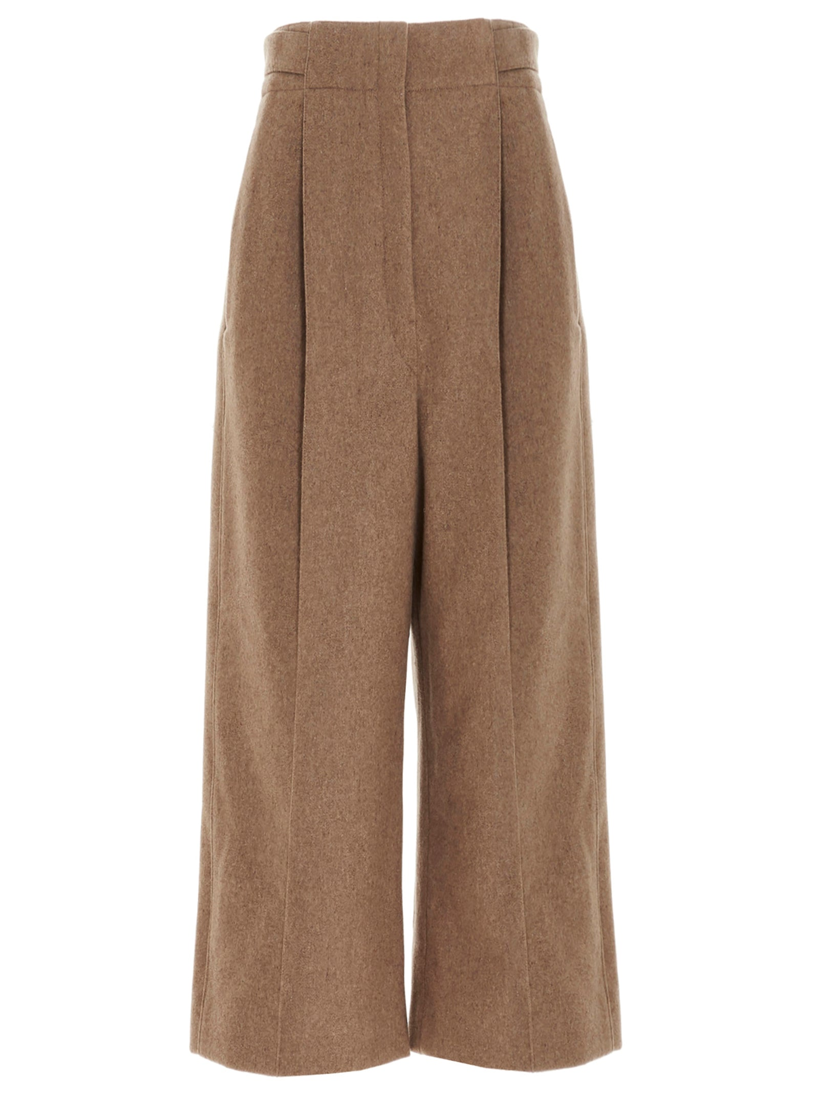 Lemaire LEMAIRE PLEATED CROPPED PANTS