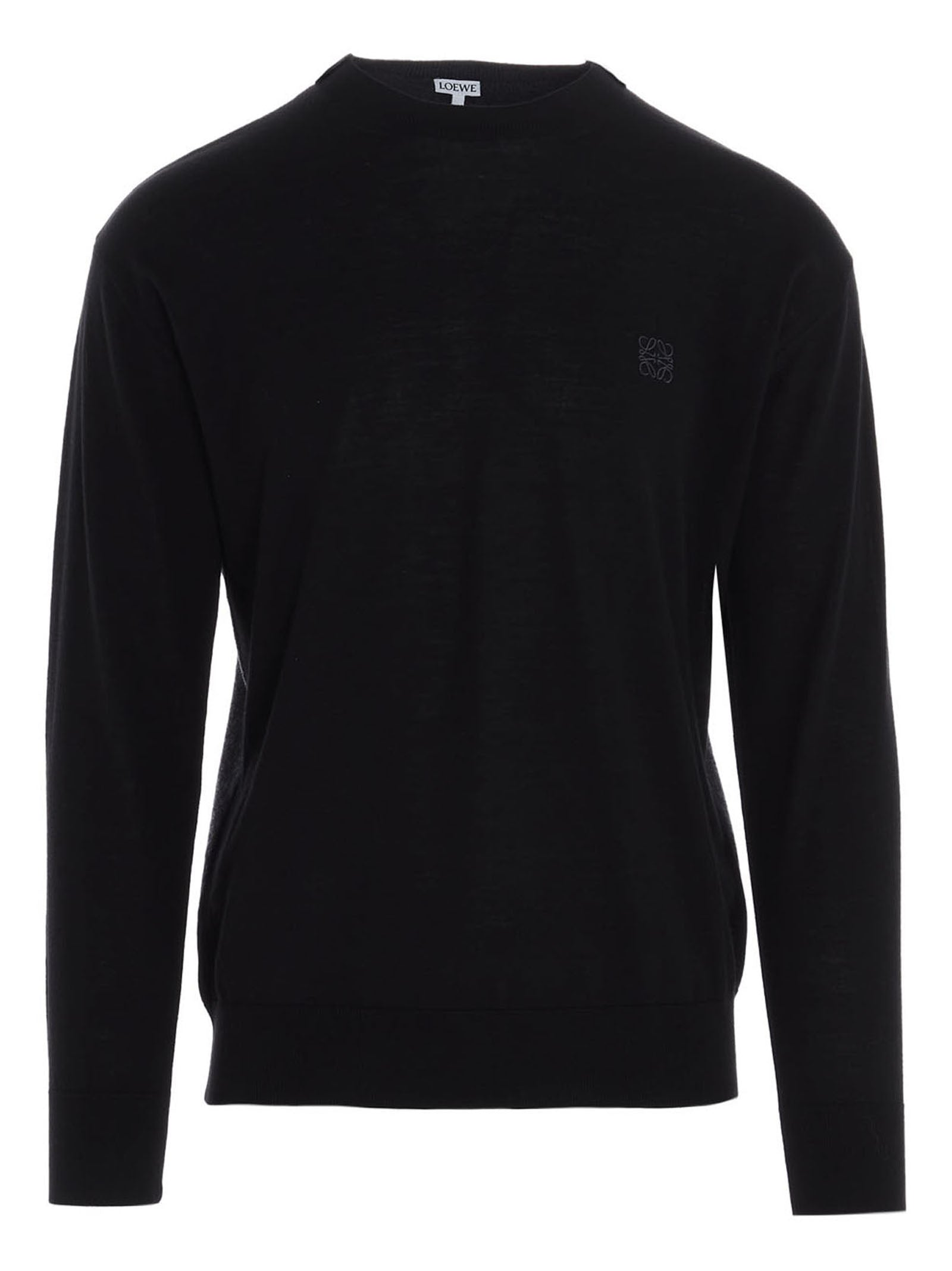Loewe LOEWE ANAGRAM EMBROIDERED SWEATER