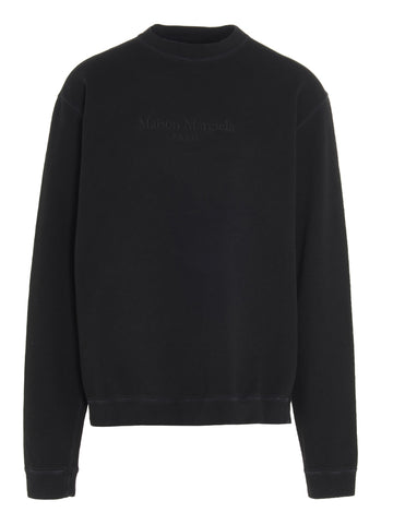 Maison Margiela Logo Embroidered Sweatshirt