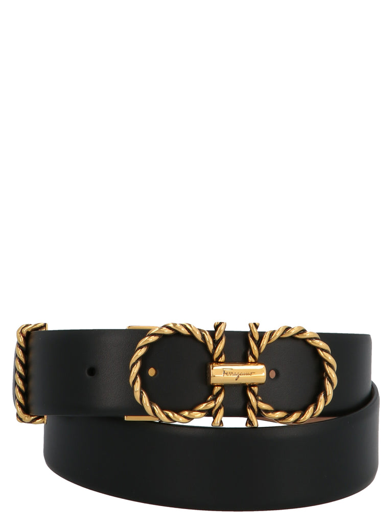 Salvatore Ferragamo SALVATORE FERRAGAMO GANCINI BUCKLE BELT
