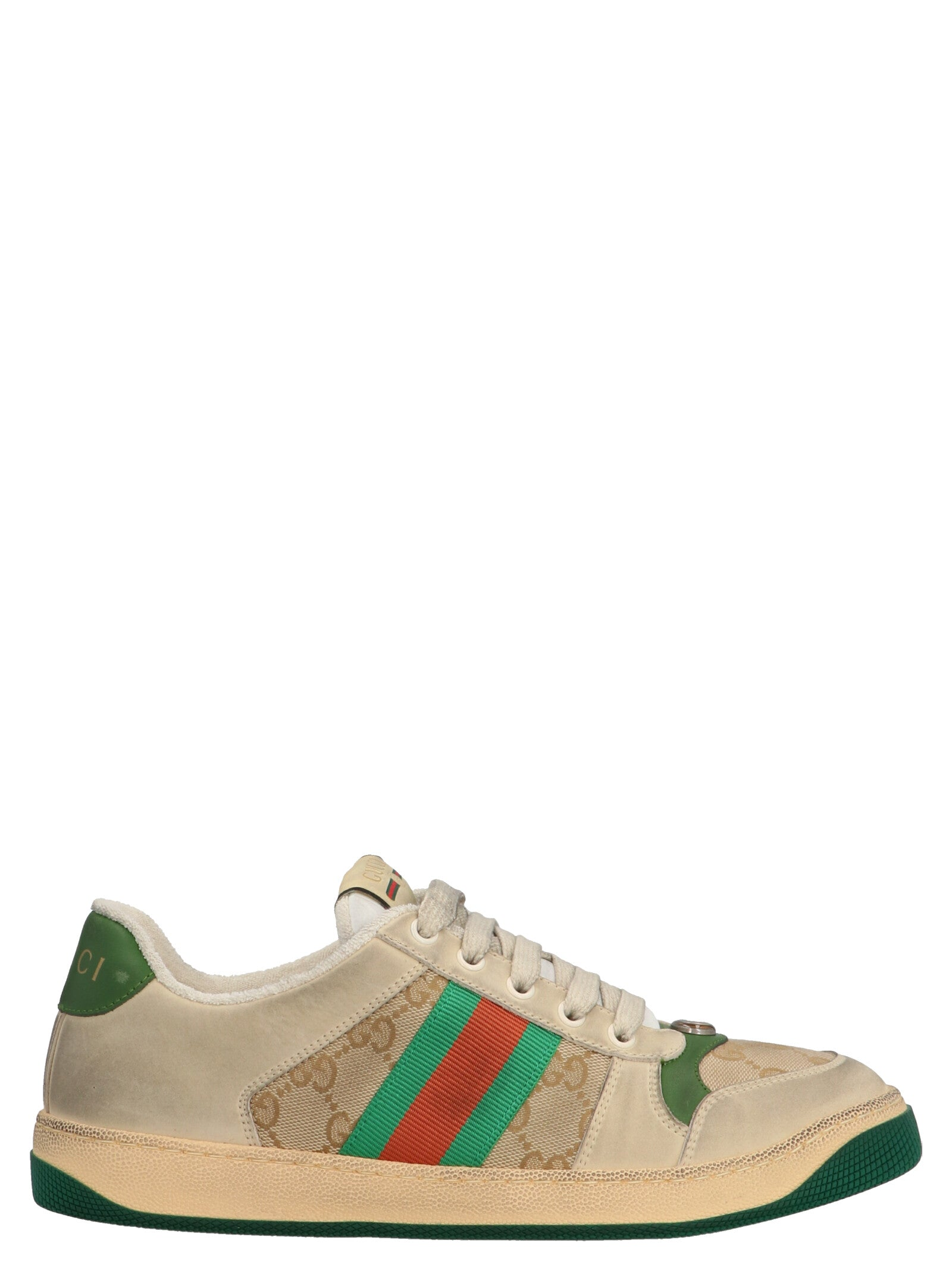 Gucci Leathers GUCCI SCREENER SNEAKERS