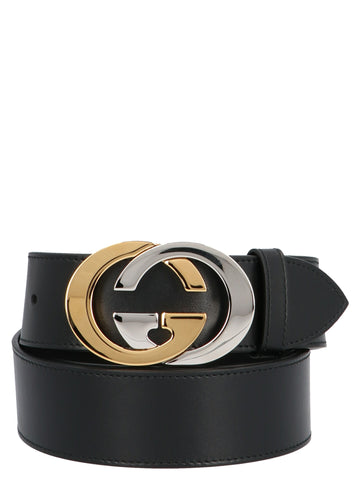 Gucci GG Interlocking Buckle Belt