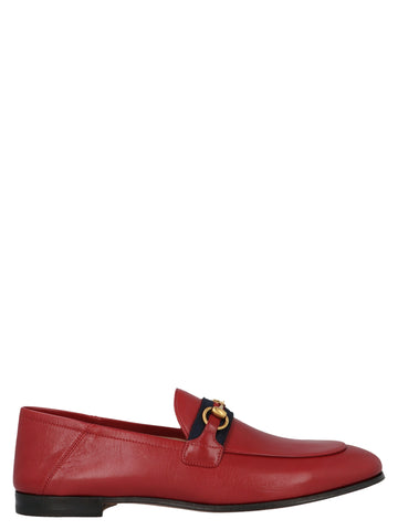 Gucci Horsebit Web Loafers