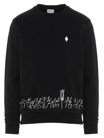Marcelo Burlon County Of Milan Tribe Print Sweatshirt