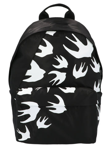 McQ Alexander McQueen Swallow Print Backpack
