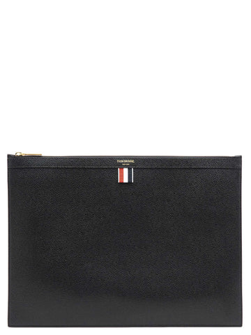 Thom Browne Logo Laptop Holder