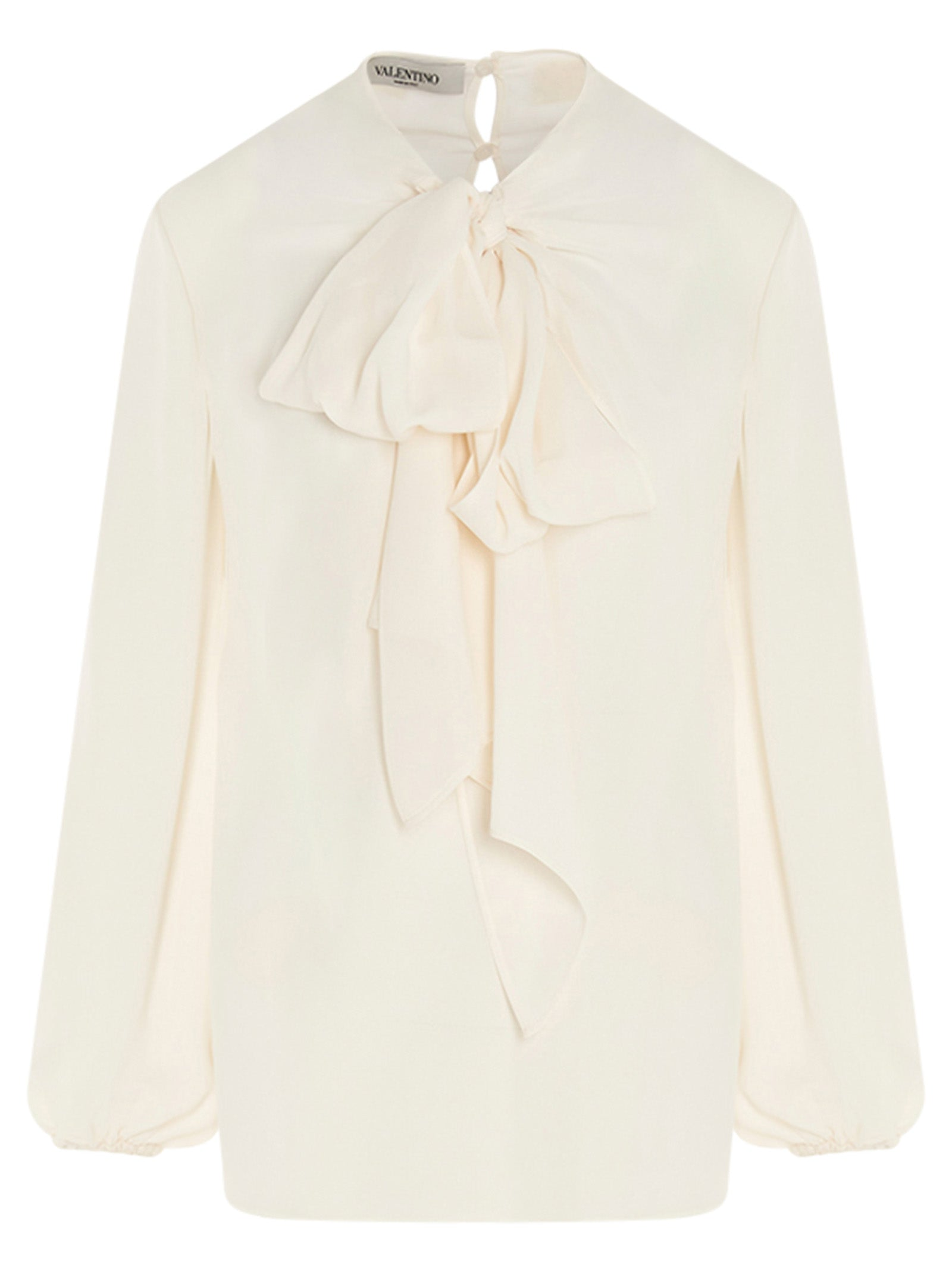 Valentino VALENTINO PUSSYBOW DETAILED BLOUSE