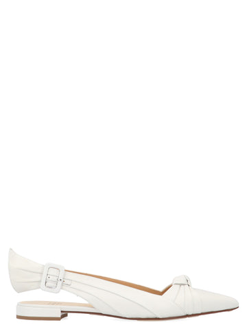 Francesco Russo Knot Slingback Shoes